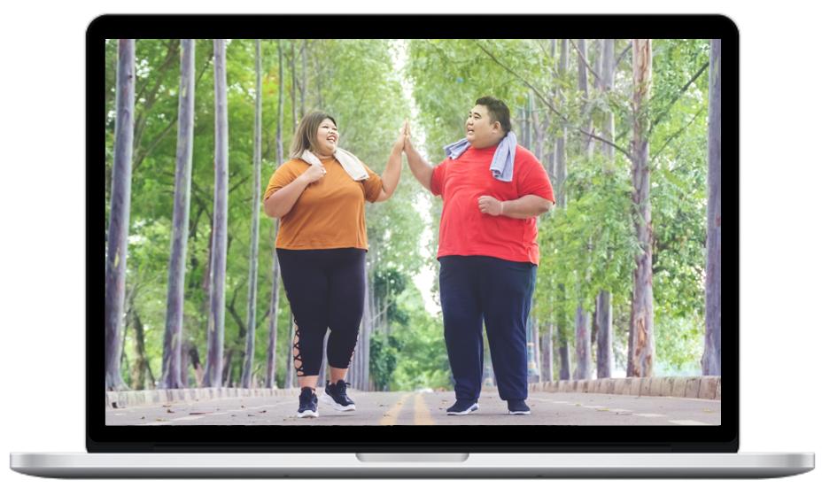 surpoids obésité obèse sport nutrition bien-être